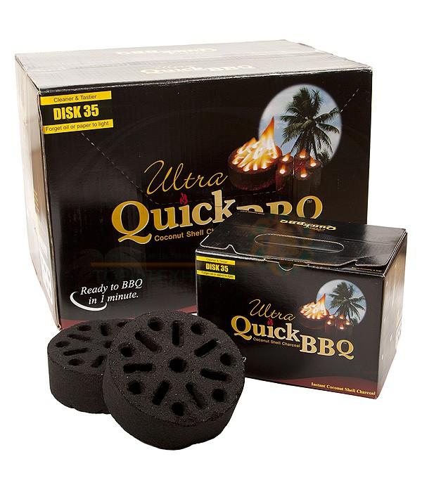 Угольные брикеты Ultra Quick BBQ